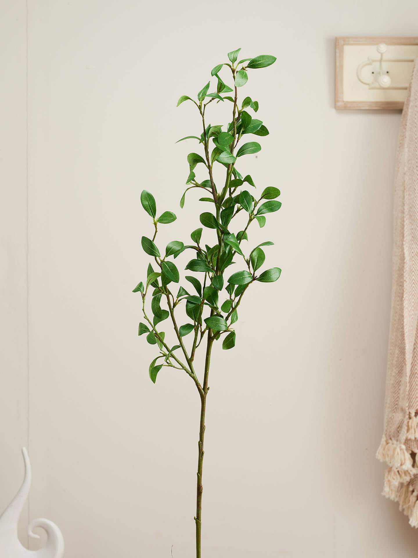 Buy Peony Artificial Privet Spray Stem Online at johnlewis.com