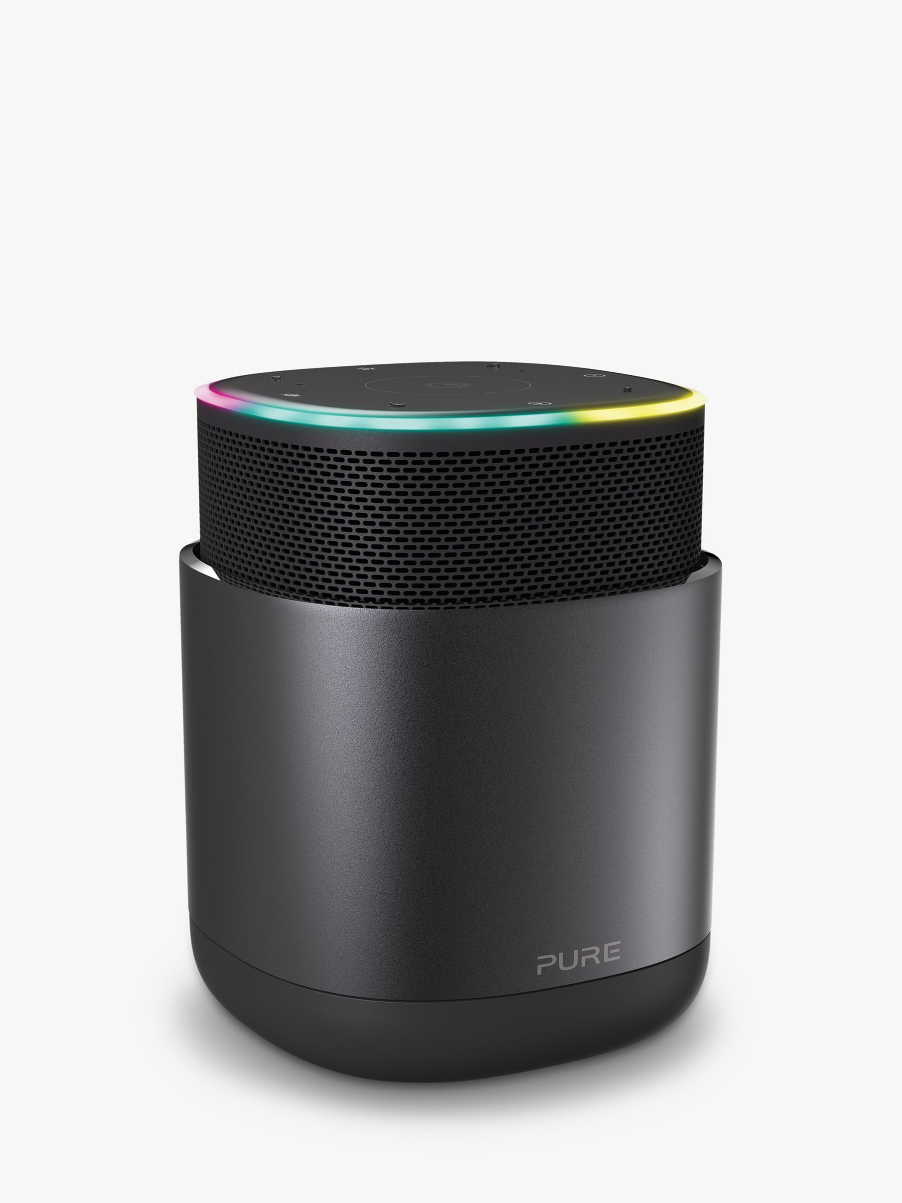 Pure Pure DiscovR Smart Speaker with Alexa Voice Recognition & Control