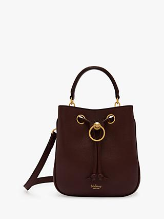 Mulberry Small Hampstead Classic Grain Leather Handbag