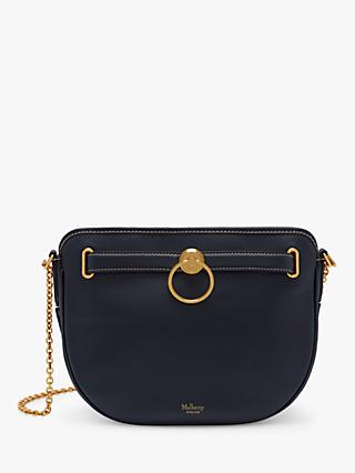 Mulberry Brockwell Silky Calf's Leather Satchel Bag