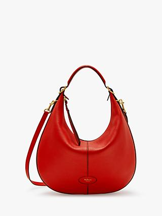 Mulberry Small Selby Classic Grain Leather Hobo Bag