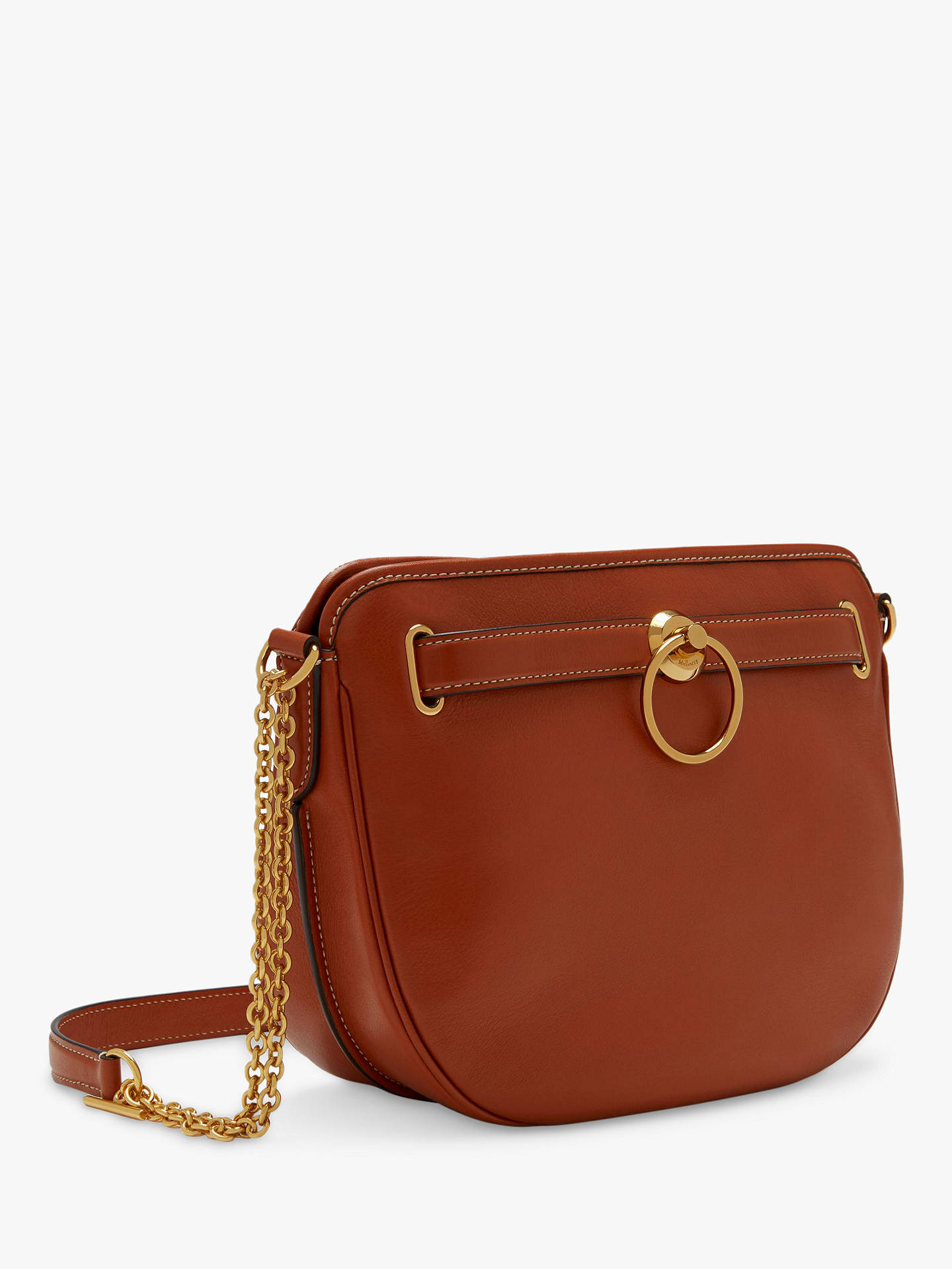 fd7a2daf2ff ... Buy Mulberry Brockwell Silky Calf's Leather Satchel Bag, Red Clay  Online at johnlewis.com