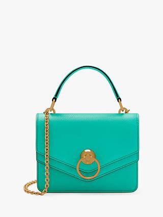 Mulberry Harlow Classic Grain Leather Small Satchel Bag