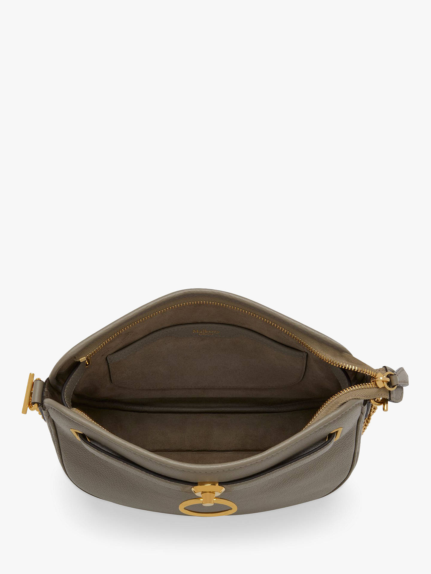 18d7304f4d33 Mulberry Brockwell Small Classic Grain Leather Satchel Bag at John ...