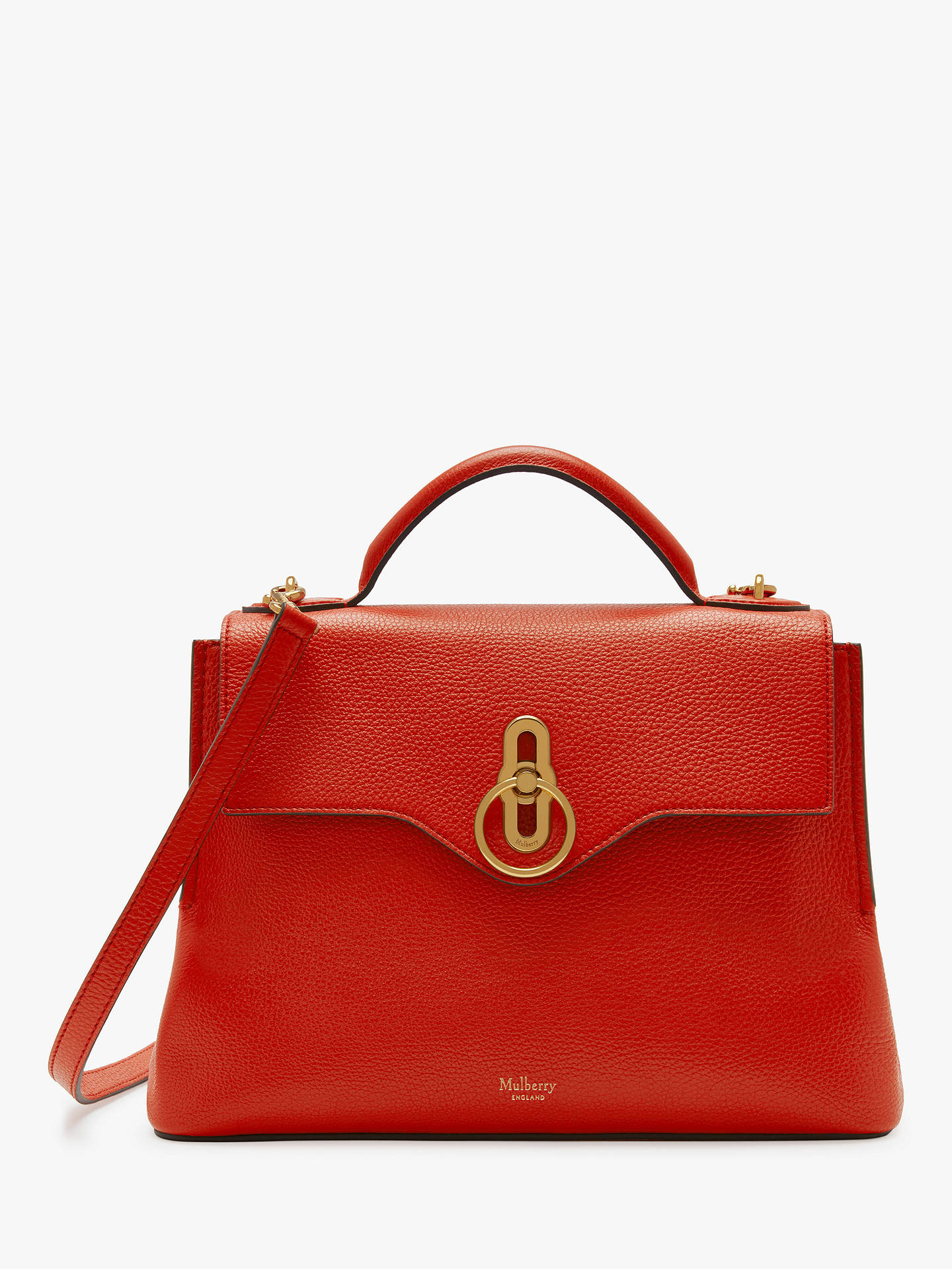 Mulberry Small Seaton Classic Grain Leather Shoulder Bag at John ... 3dbe117bcbee8