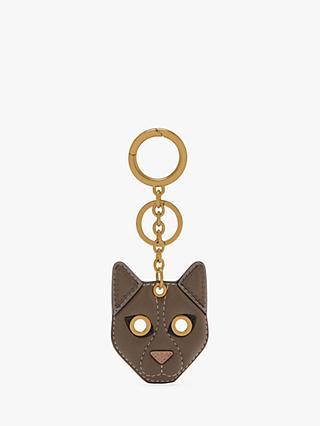 Mulberry Small Classic Grain Leather Cat Keyring b64807b2b076
