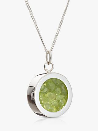 Rachel Jackson London Peridot August Birthstone Necklace