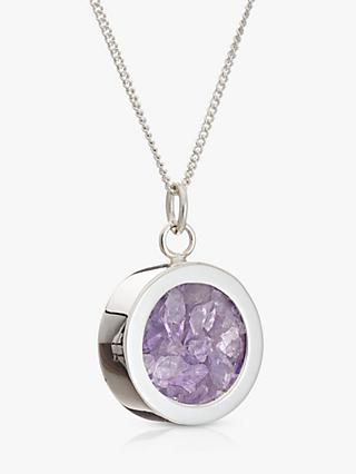 Rachel Jackson London Amethyst February Birthstone Necklace