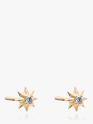 Rachel Jackson London Star Diamond Stud Earrings