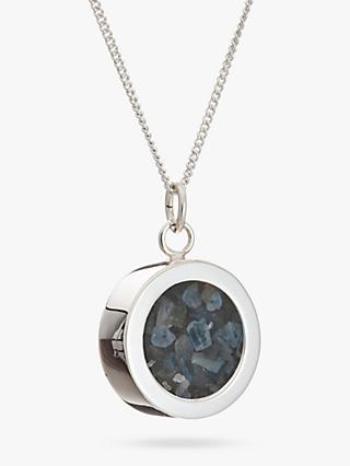 Rachel Jackson London Sapphire September Birthstone Necklace