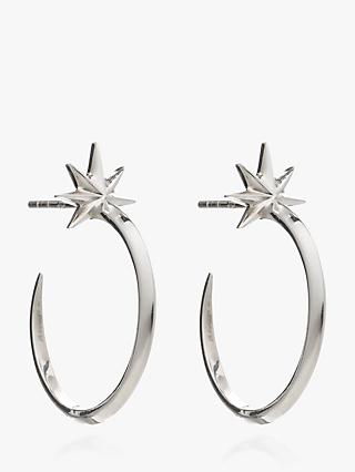 Rachel Jackson London Shooting Star Hoop Earrings