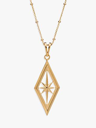 Rachel Jackson London Nova Star Pendant Necklace