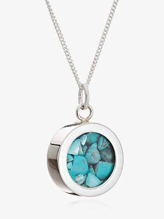 Rachel Jackson Turquoise December Birthstone Necklace