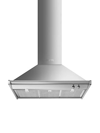 Smeg KD90HXE Chimney Cooker Hood, Stainless Steel