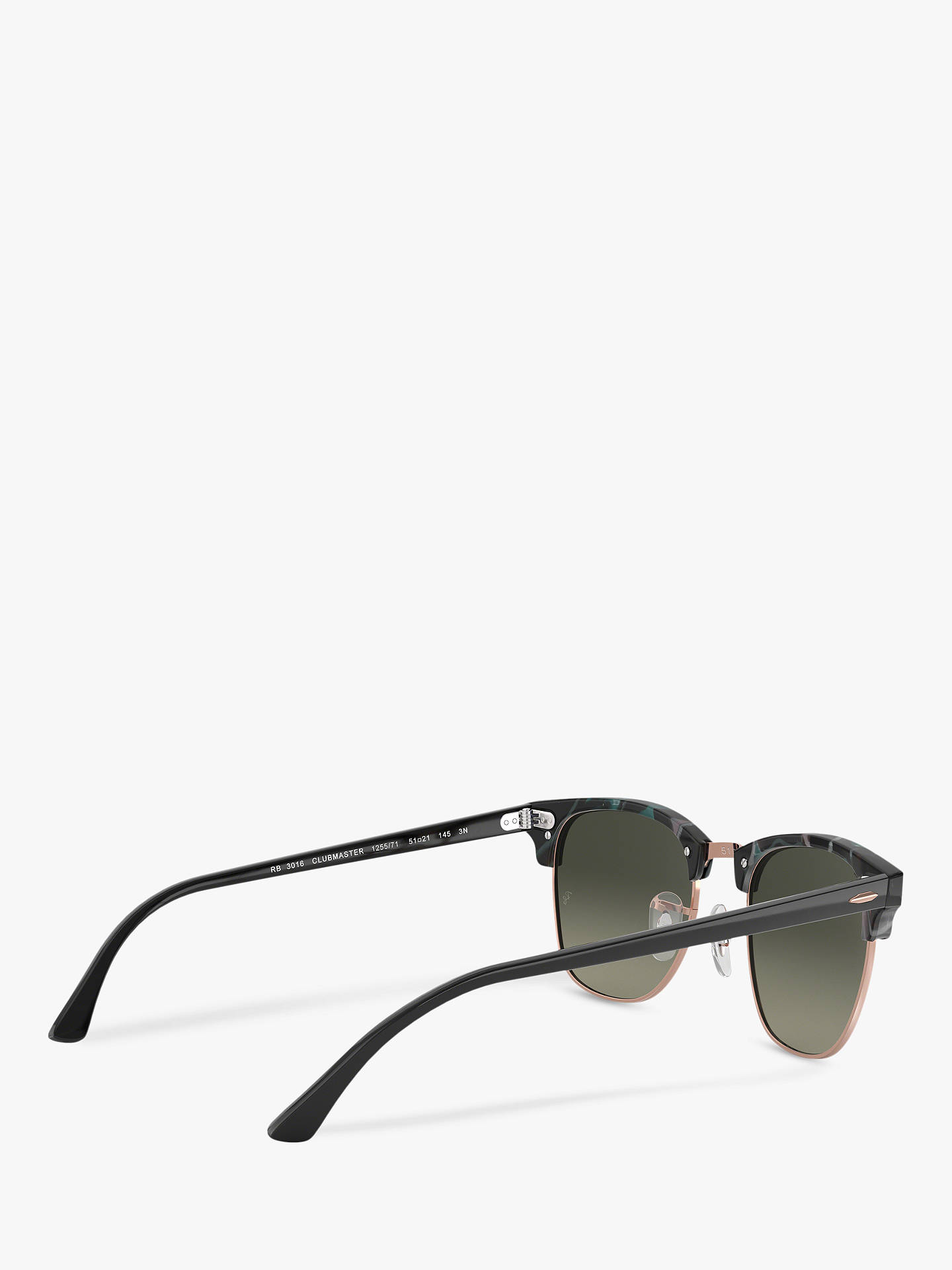 107598abbba ... Buy Ray-Ban RB3016 Clubmaster Square Sunglasses
