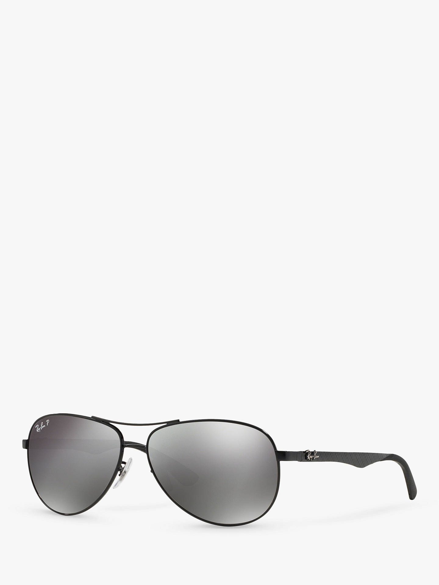 fbc9bf03939 Ray-Ban RB8313 Polarised Aviator Sunglasses at John Lewis   Partners