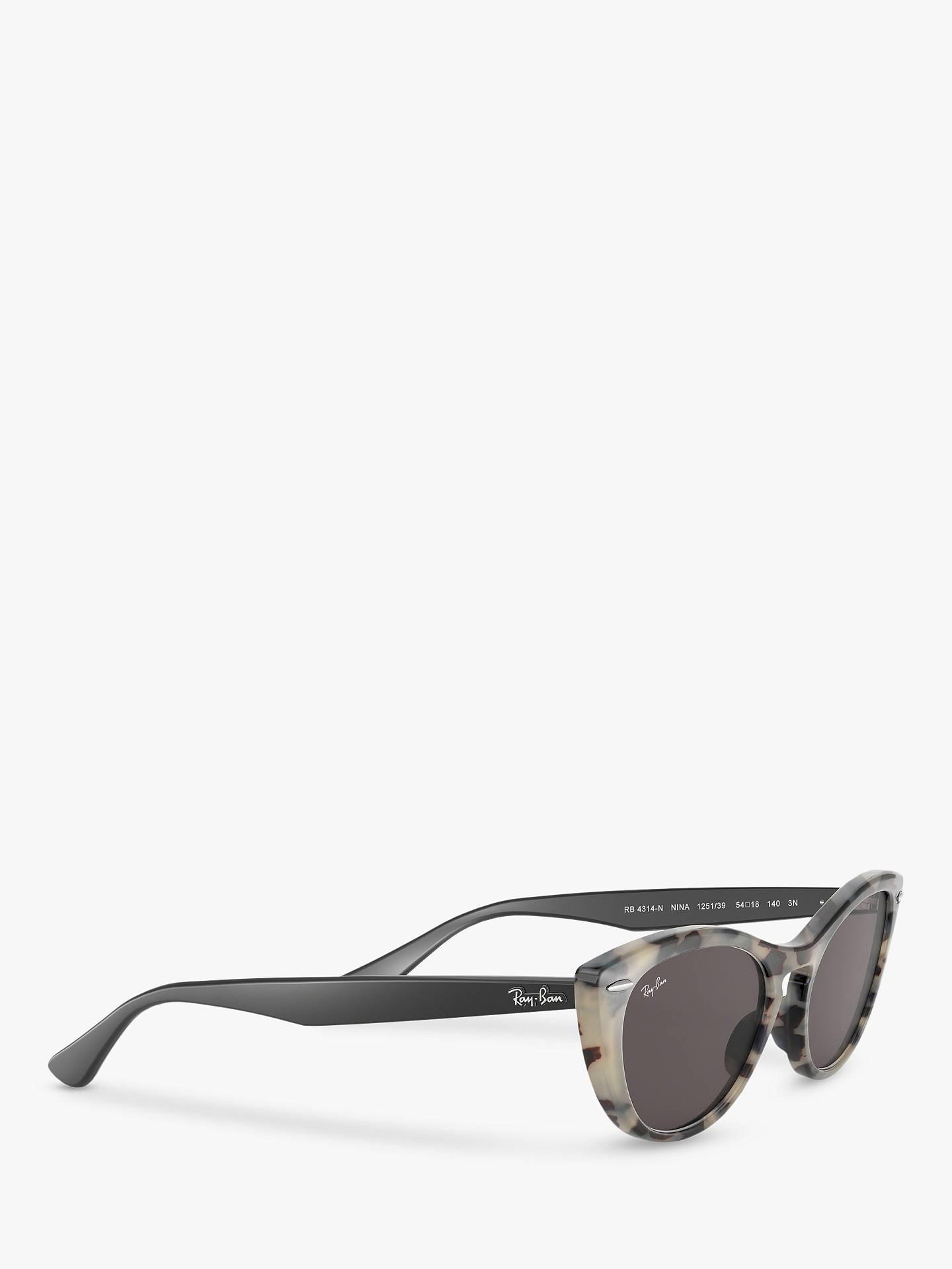 2331dd9ba617 Buy Ray-Ban RB4314N Women's Cat's Eye Sunglasses, Havana Beige Online at  johnlewis.