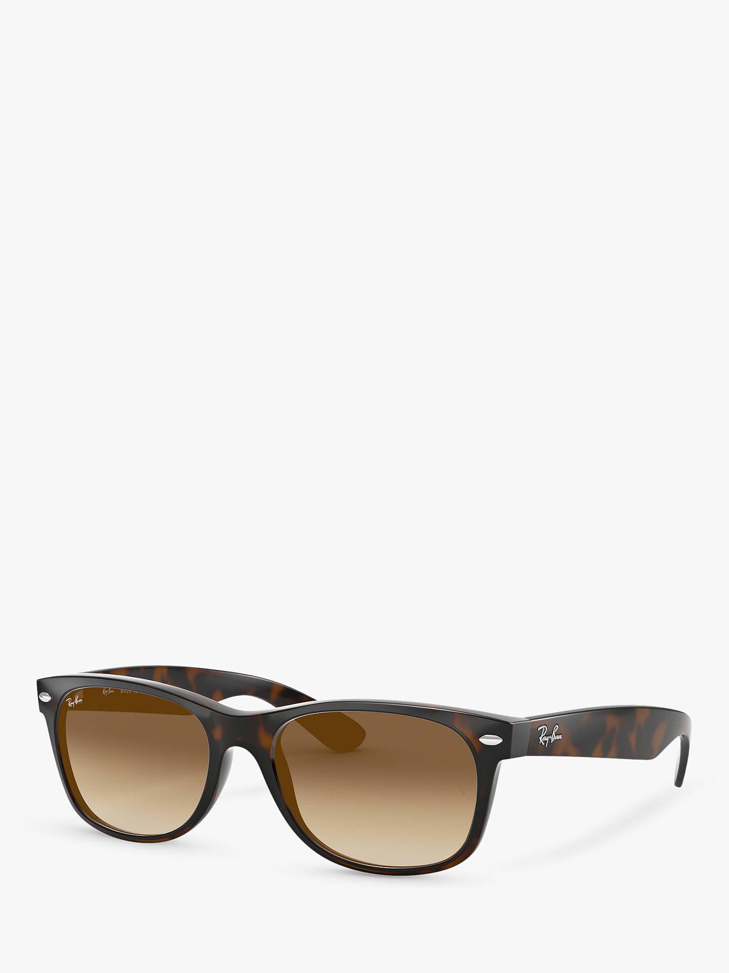 BuyRay-Ban RB2132 Men s New Wayfarer Square Sunglasses, Light Havana Online  at johnlewis. 022e3c87c155