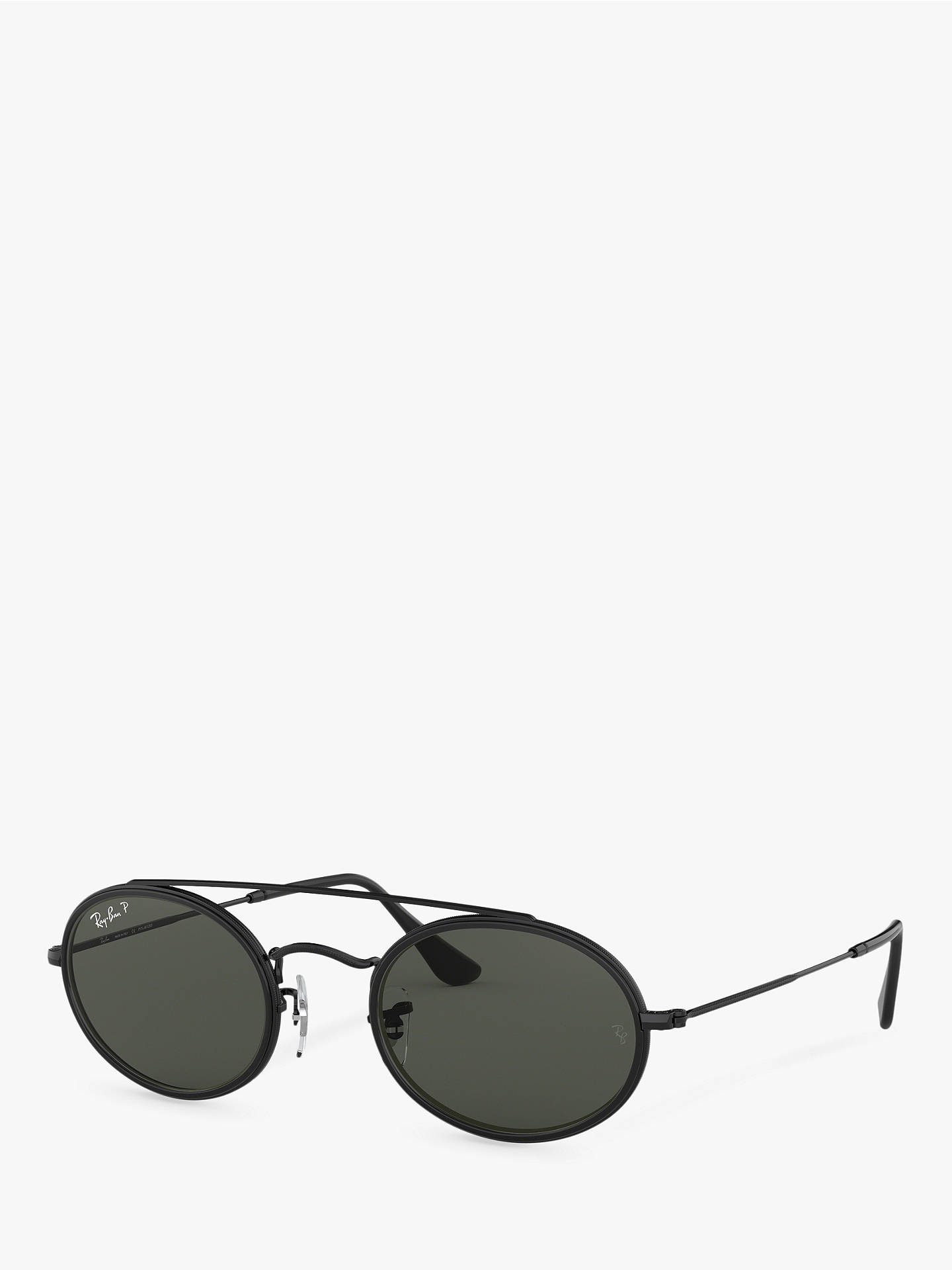 704cca39cd BuyRay-Ban RB3847N Unisex Polarised Oval Sunglasses