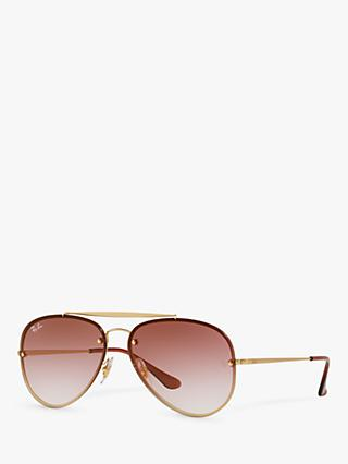 Ray-Ban RB3584N Unisex Blaze Aviator Sunglasses