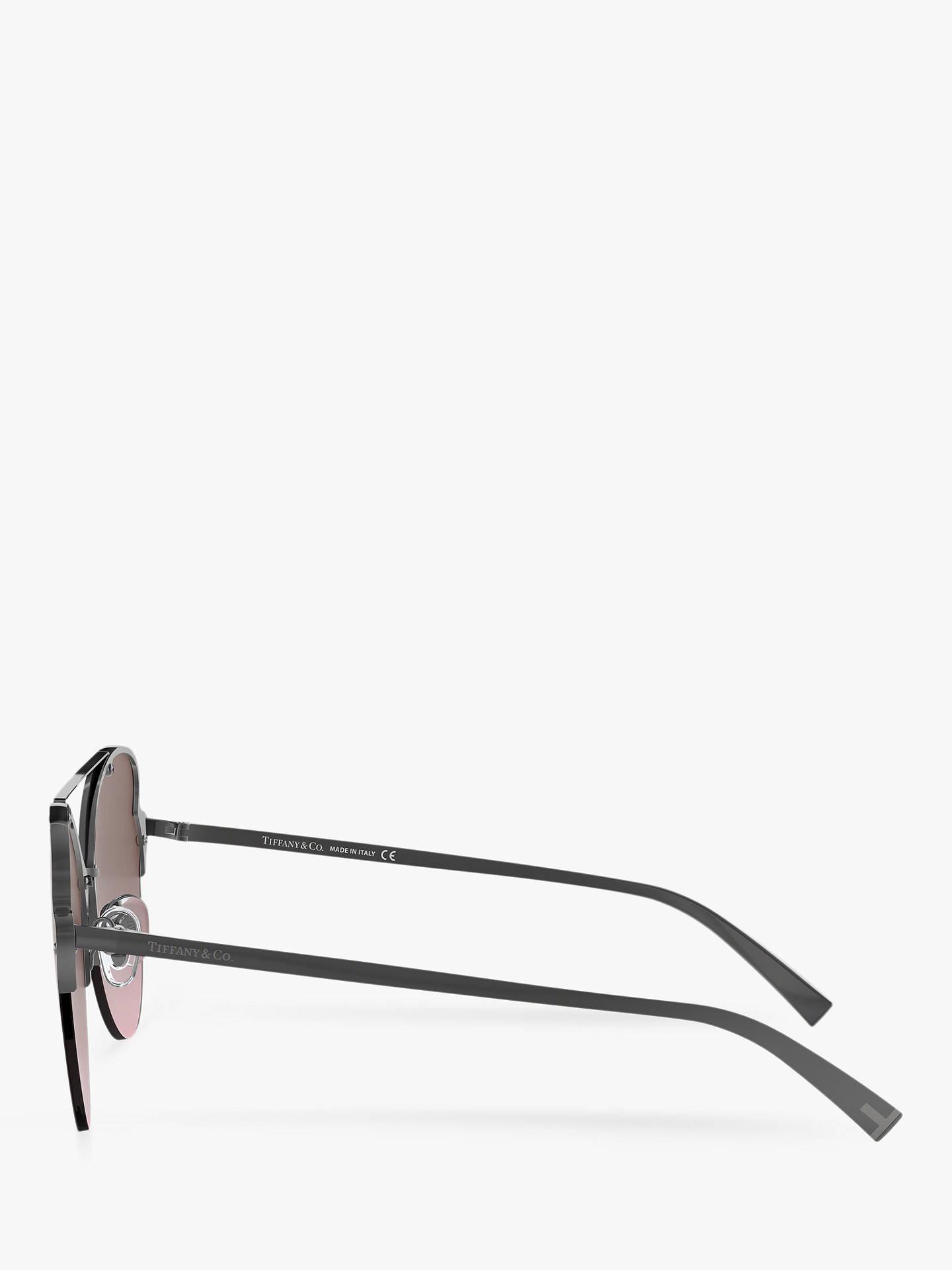 793c649a02f0 ... Buy Tiffany & Co TF3063 Women's Cat's Eye Sunglasses, Gunmetal/Purple  Gradient Online at ...