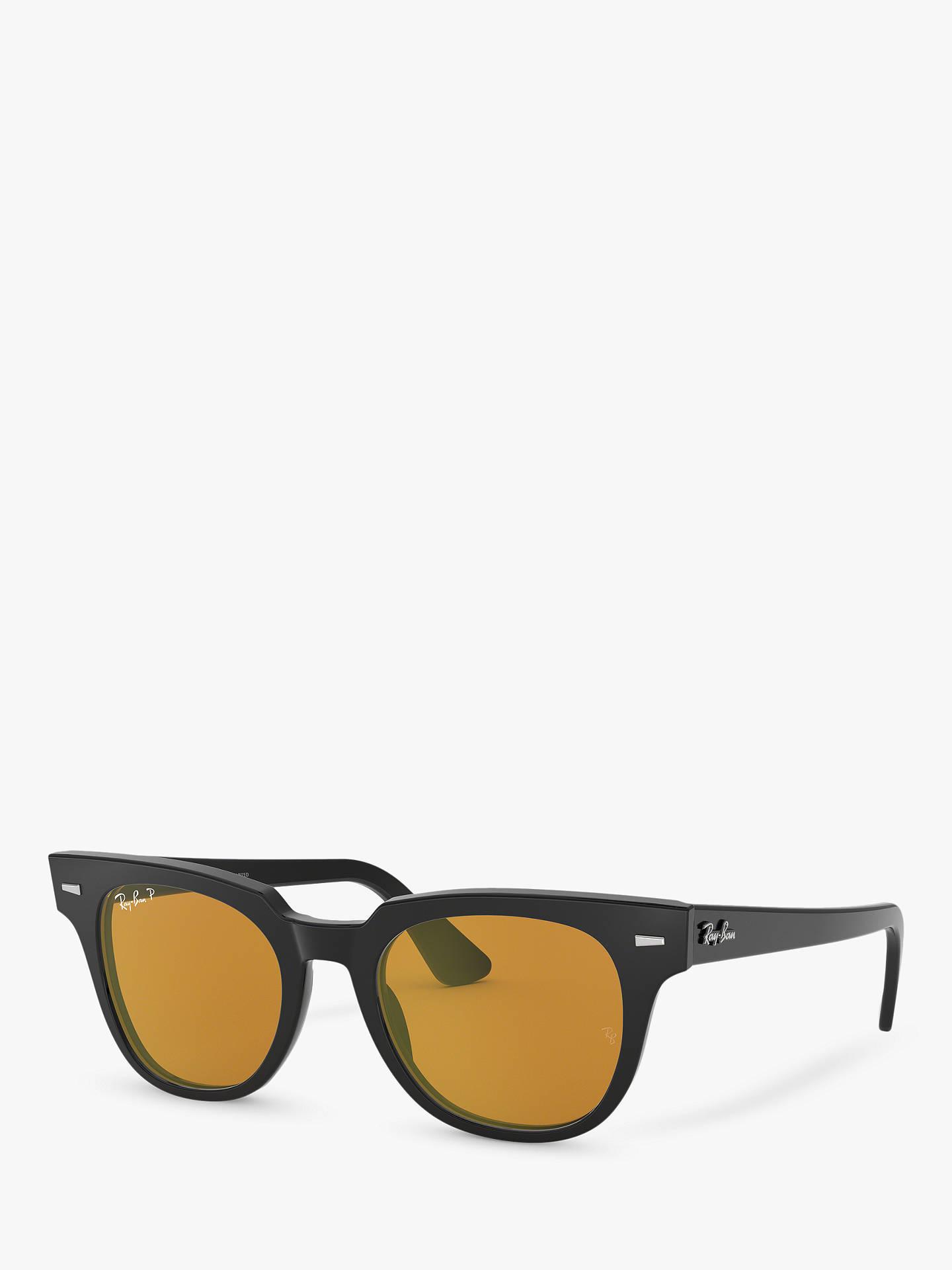7d79f190b0a Ray-Ban RB2168 Unisex Polarised Square Sunglasses at John Lewis ...