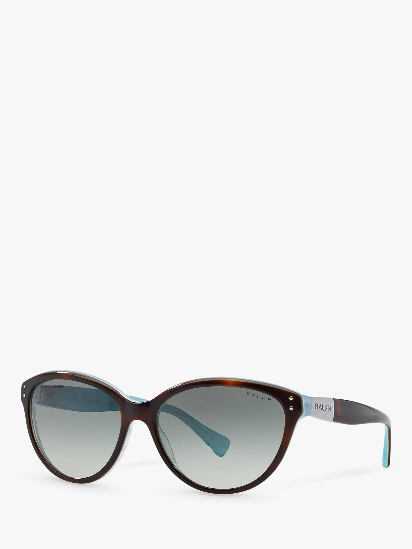 f5c151b8d558 Buy Polo Ralph Lauren RA5168 Women's Cat's Eye Sunglasses,  Tortoise/Turquoise Online at johnlewis ...