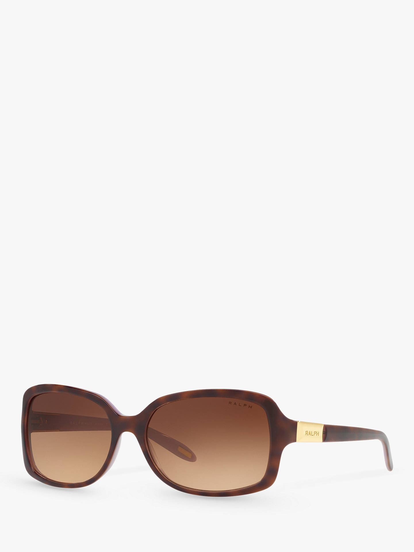 793fa5314b93 Buy Polo Ralph Lauren RA5130 Women's Rectangular Sunglasses,  Tortoise/Violet Online at johnlewis.