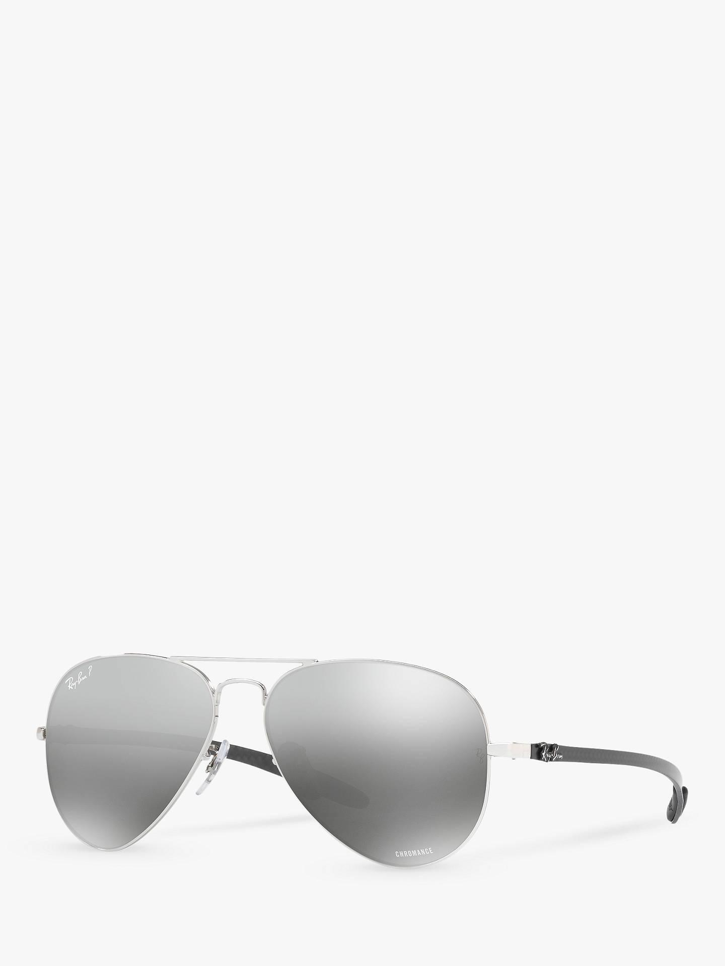 2bbd5df870a Buy Ray-Ban RB8317CH Chromance Polarised Aviator Sunglasses