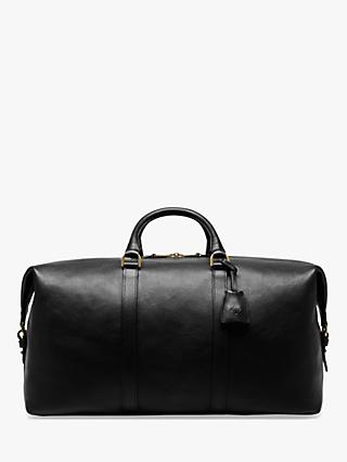 Mulberry Medium Clipper Natural Veg Tanned Leather Holdall