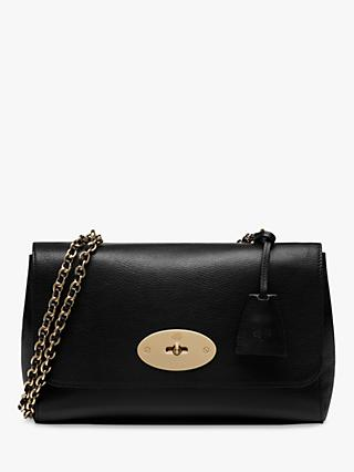 Mulberry Medium Lily Glossy Goat Leather Shoulder Bag