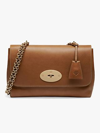 Mulberry Medium Lily Natural Veg Tanned Leather Cross Body Bag fa0f4e9f08
