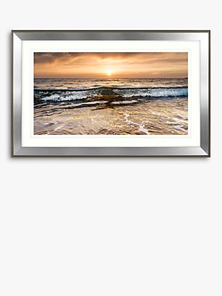 Mike Shepherd - Setting Sun Framed Print & Mount, 71 x 110cm