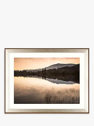 Mike Shepherd - Peaceful Reflections Framed Print & Mount, 85 x 111cm