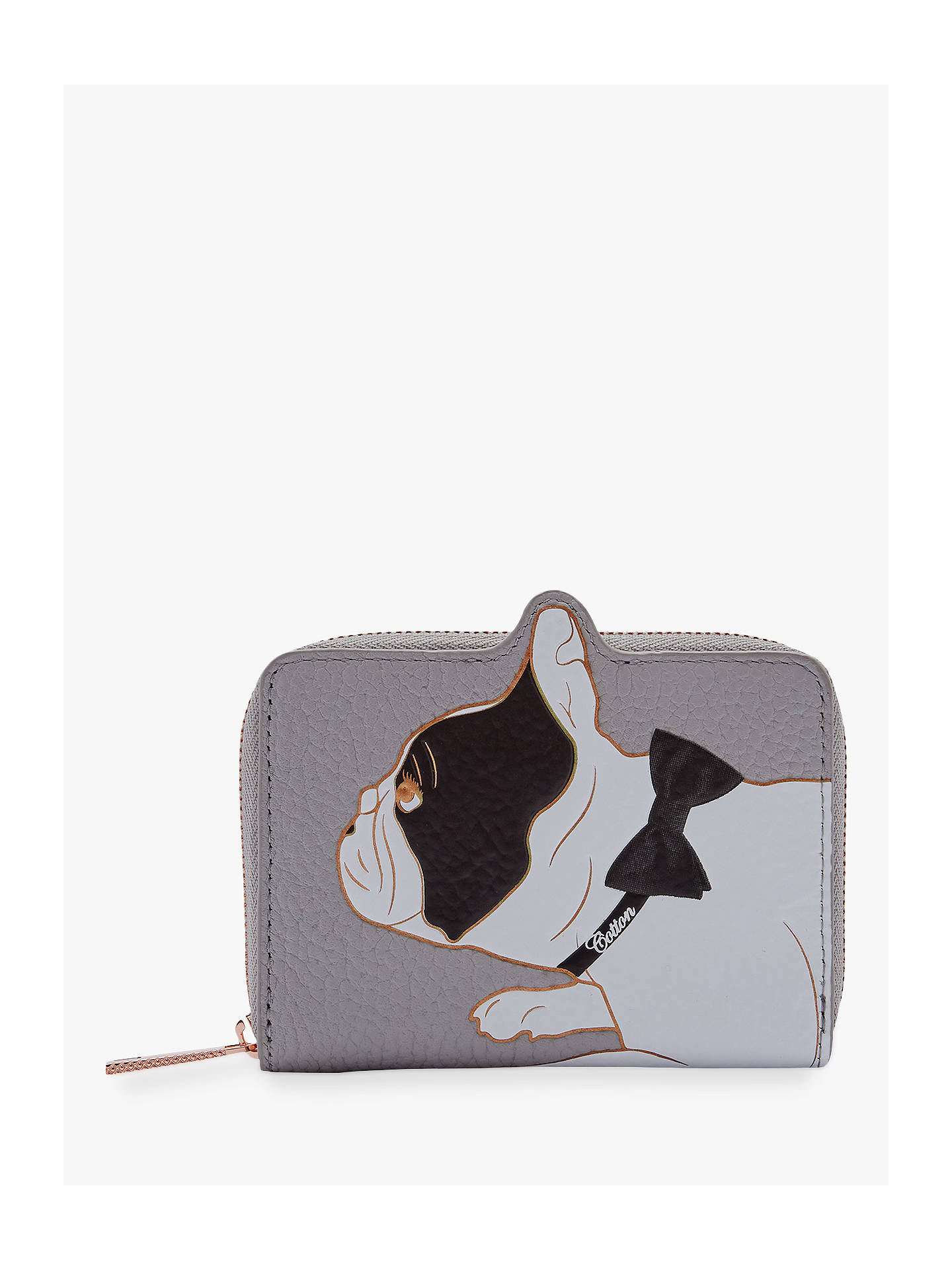53756a2eb Buy Ted Baker Zhoe Small Leather Zip Around Purse