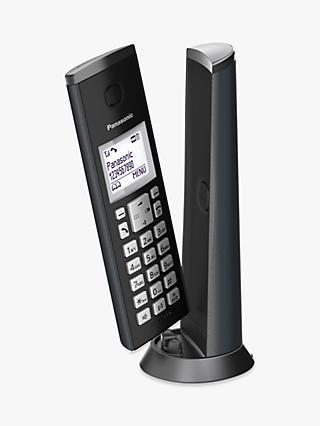"Panasonic KX-TGK220E Digital Cordless Telephone with 1.5"" LCD Screen, Nuisance Call Blocker and Answering Machine, Single DECT"