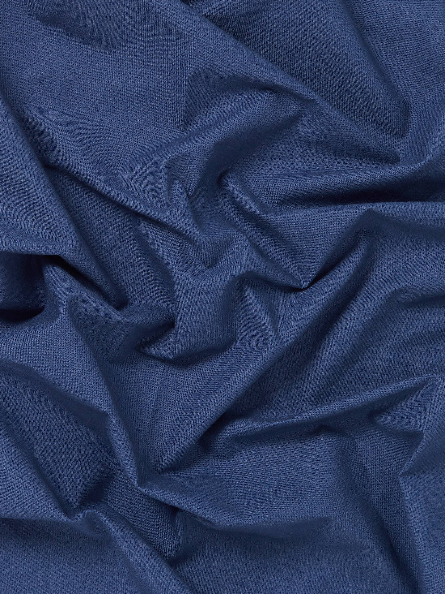 Buy Oddies Textiles Cotton Fabric, Navy Online at johnlewis.com