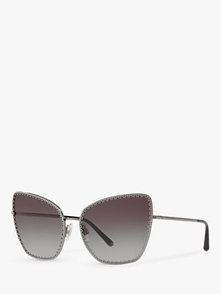 Dolce & Gabbana DG2212 Women's Cat's Eye Sunglasses