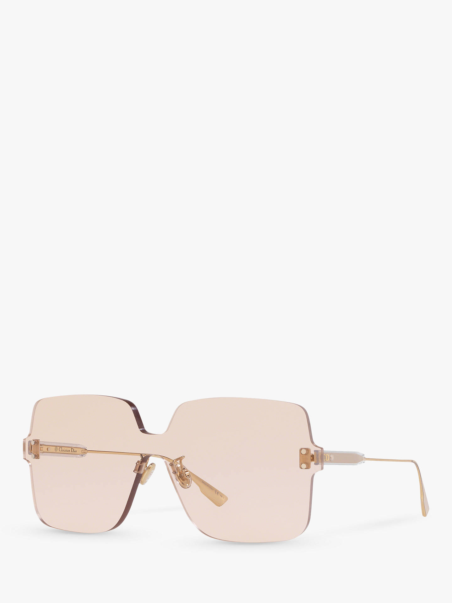 ad2f5473e18 Dior Diorcolourquake1 Women s Rectangular Sunglasses at John Lewis ...
