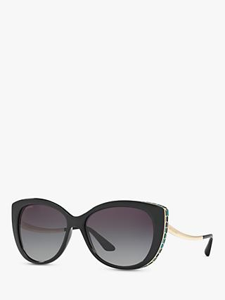BVLGARI BV8178 Embellished Cat's Eye Sunglasses