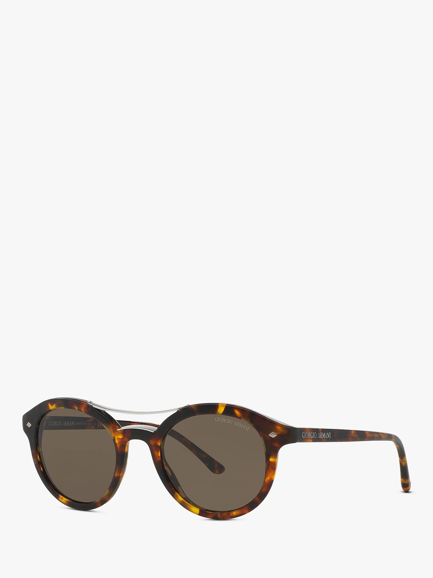 5827becea128 Buy Giorgio Armani AR8007 Men s Round Sunglasses