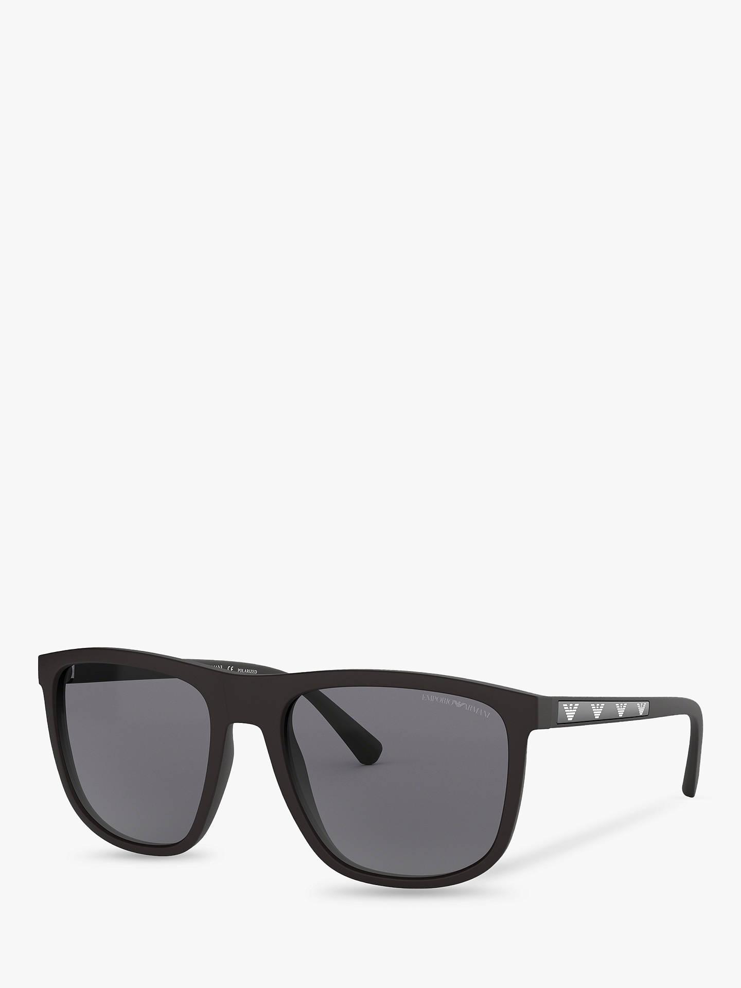 c90829878e9 Emporio Armani EA4123 Men s Square Sunglasses at John Lewis   Partners