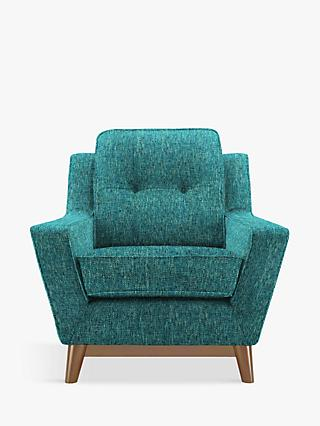 G Plan Vintage The Fifty Three Armchair, Teal