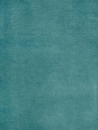 John Lewis & Partners Knitted Velvet Made to Measure Curtains or Roman Blind, Soft Teal