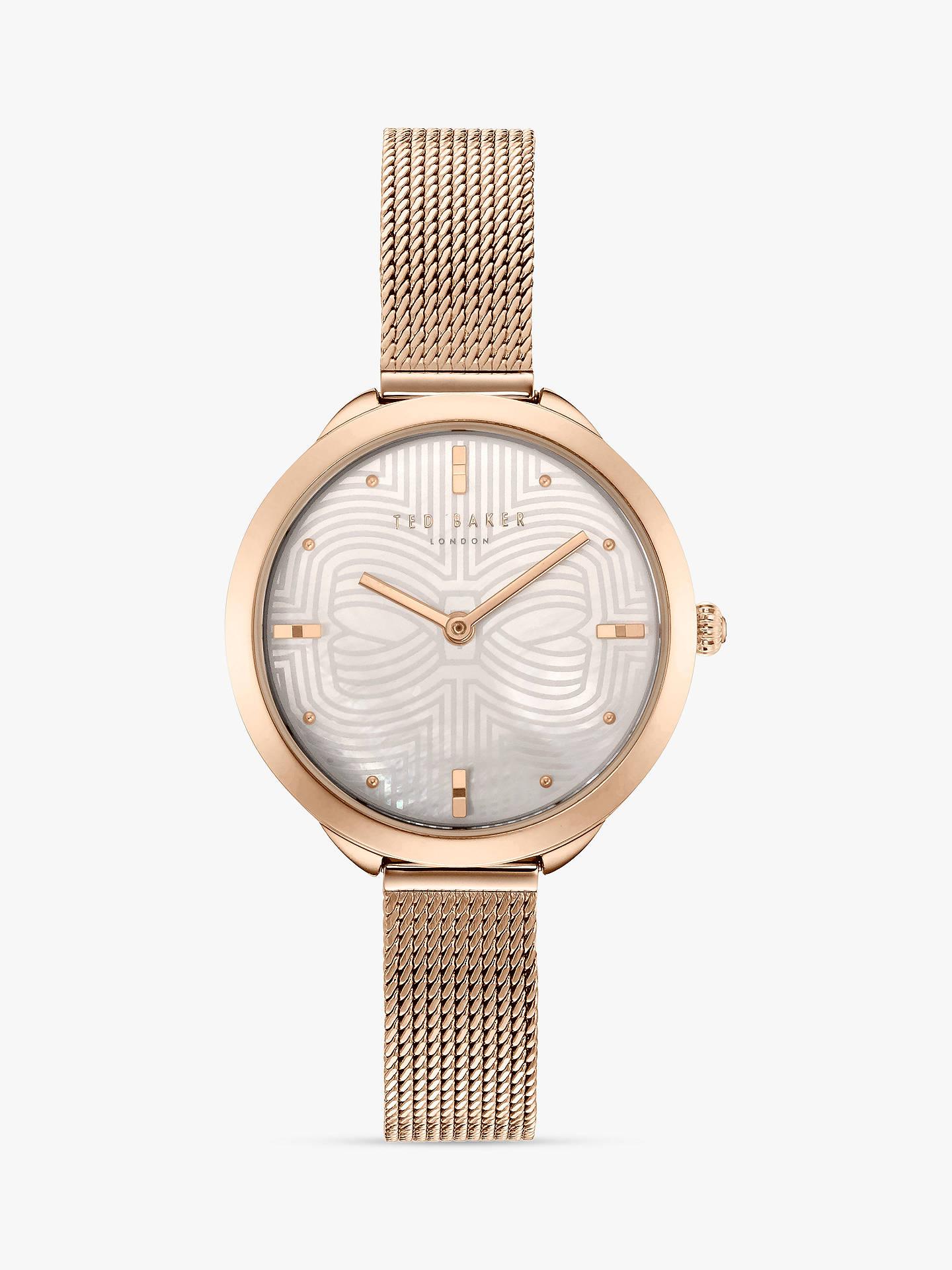 556efb8f9 Buy Ted Baker Women s Elena Metal Strap Watch