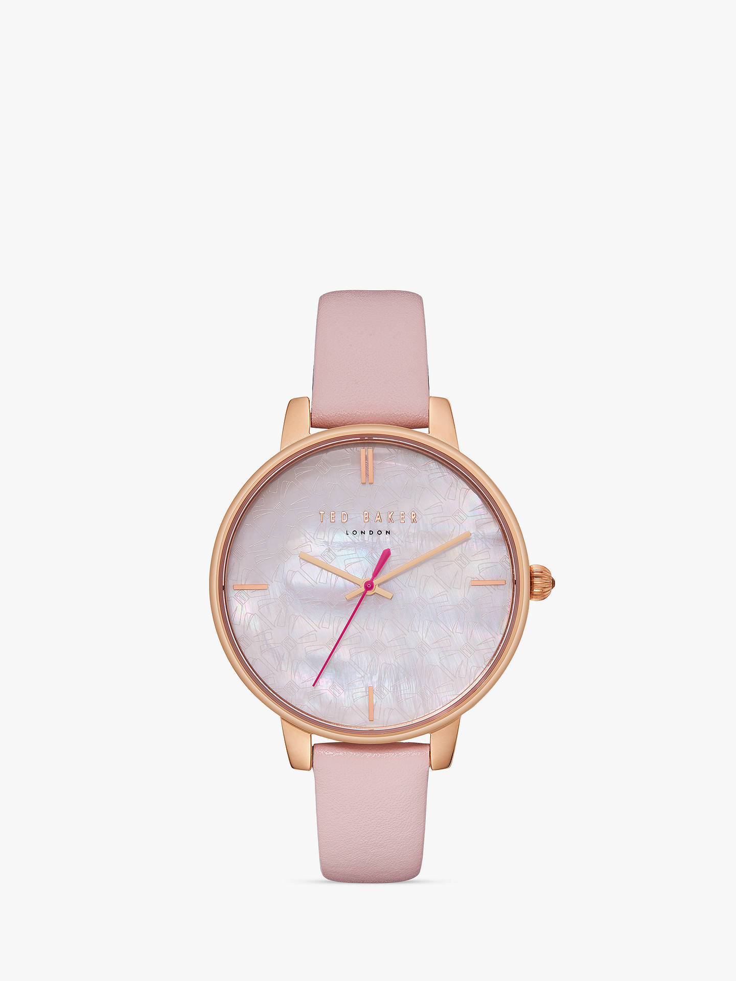 44560eddf Buy Ted Baker TE50272006 Women s Kate Leather Strap Watch