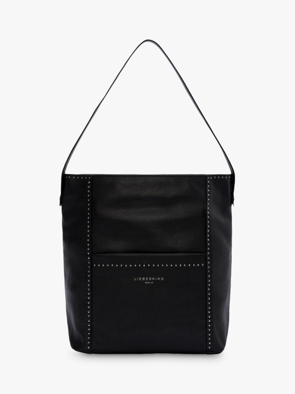 02fa67667fdd Liebeskind Berlin Stud Love Leather Medium Hobo Bag