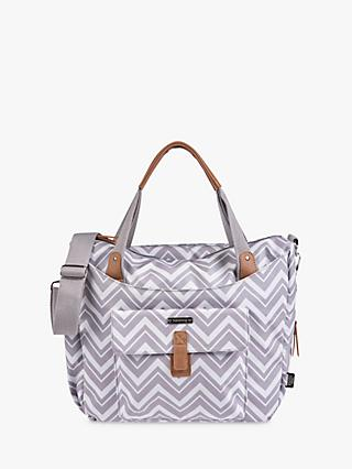 BabaBing! Roma 2 Changing Bag, Grey Chevron