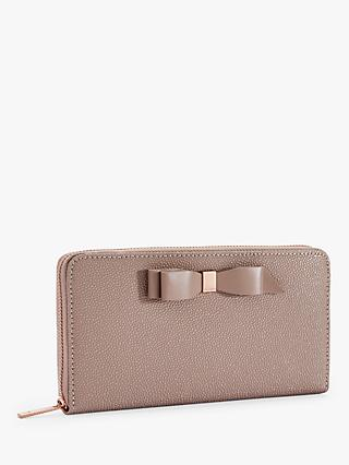 Ted Baker Aine Leather Zip Around Purse