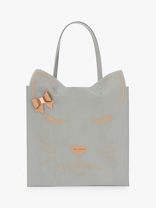 Ted Baker Tabycon Cat Large Icon Per Bag Grey